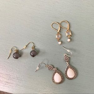 3 Earrings Bundle